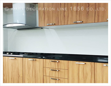 Laminate Cabinet Panel Kitchens | Ayara Decoration Line 1656